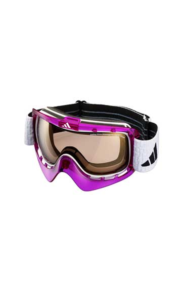 Adidas Purple Goggles