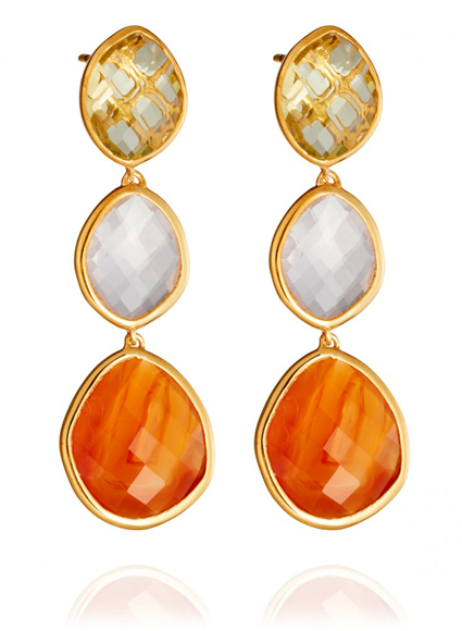Earrings Monica Vinader at Astley Clarke