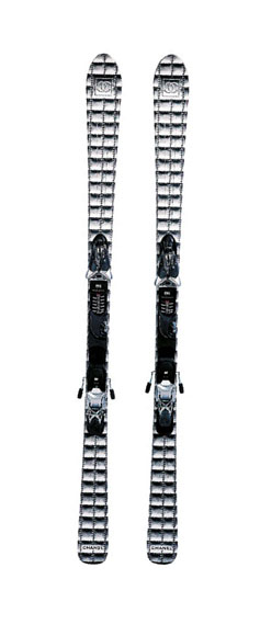Chanel Parabolic skis