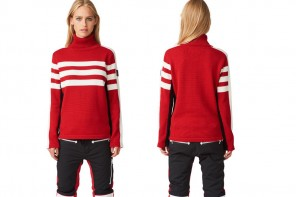 Most Wanted: SOS Black Snow, Race Knit Racing Red Knitwear